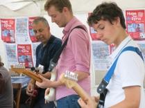 Guitarist line up