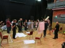 Rehearsing in Cambridge Junction